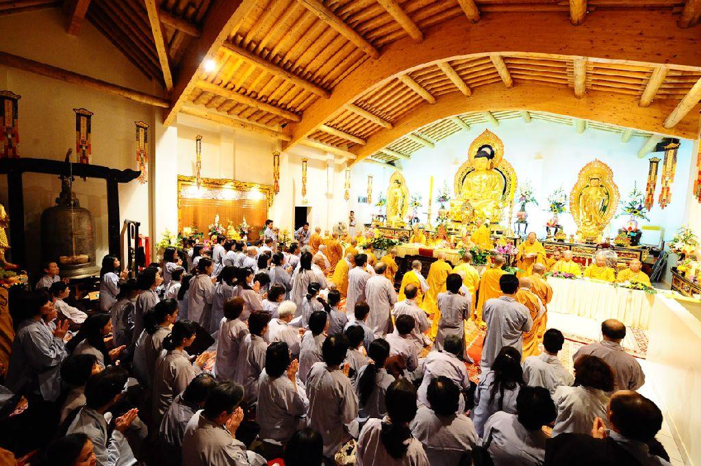 Cérémonie de Prise de voeux de Bodhisattva