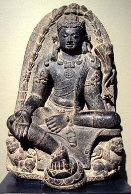 260px-Manjusri_Kumara_(bodhisattva_of_wisdom),_India,_Pala_dynesty,_9th_century,_stone,_Honolulu_Academy_of_Arts