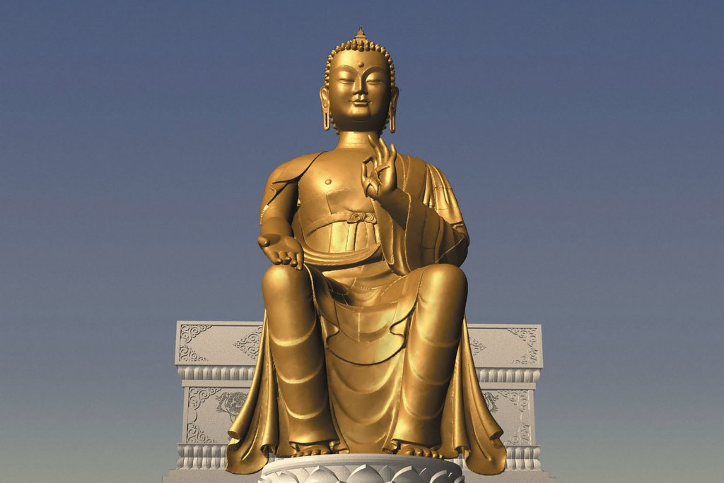 Maitreya-statue